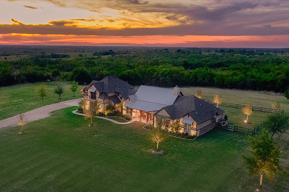 Luxury home with land for sale in Gunter, TX